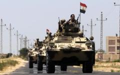 الصورة: الصورة: الجيش المصري يعلن مقتل  118 إرهابياً في سيناء