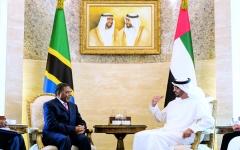 الصورة: الصورة: محمد بن زايد: الإمارات تبدي اهتماماً كبيراً بتعزيز علاقاتها مع أفريقيا