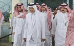 الصورة: الصورة: أمير مكة: سنرفع نتائج التحقيقات في حريق محطة قطار الحرمين إلى الملك سلمان