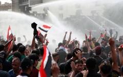 الصورة: الصورة: رئيس الوزراء العراقي يعلن حظر التجول في بغداد