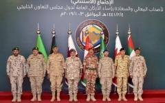 الصورة: الصورة: رؤساء أركان «التعاون»: نساند السعودية في الدفاع عن أراضيها