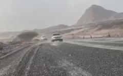 الصورة: الصورة: بالفيديو..أمطار الخير على الإمارات