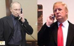 الصورة: الصورة: 16 مكالمة سريّة بين ترامب وبوتين منذ 2017