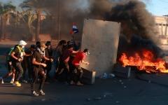 الصورة: الصورة: 73 قتيلا وأكثر من 3 آلاف جريح في احتجاجات العراق
