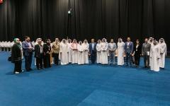 الصورة: الصورة: وفد عربي ودولي يطلع على النموذج الإماراتي المميز  في إدارة العملية الانتخابية