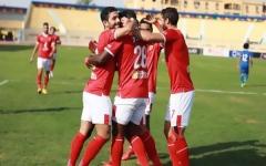 الصورة: الصورة: الأهلي يقسو على أسوان بخماسية ويتصدر الدوري المصري