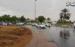 الصورة: الصورة: بالفيديو.. أمطار تعم مختلف إمارات الدولة