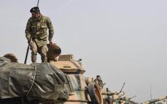 الصورة: الصورة: مسؤول تركي: العملية العسكرية لاجتياح شمال سوريا تبدأ بعد قليل