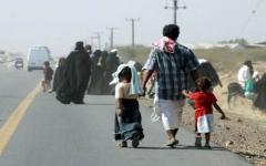 الصورة: الصورة: نازحو اليمن: من جحيم الميليشيا إلى كوارث الفيضانات