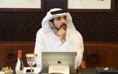 """الصورة: الصورة: حمدان بن محمد يعتمد الهوية المؤسسية الجديدة لبرنامج """"دبي للتميز"""""""