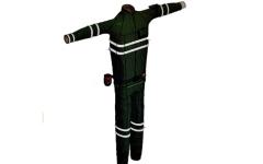 الصورة: الصورة: «بدلة أريام» ابتكار إماراتي يبرّد أجسام العمال