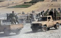 الصورة: الصورة: 12 ألف مسلح سوري موالون لتركيا في الخطوط الأمامية لـ«العدوان»