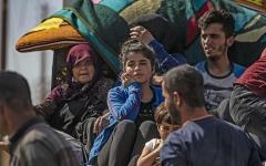الصورة: الصورة: بالصور.. أزمة إنسانية جديدة في سوريا تفتك بالأطفال والنساء