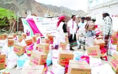 الصورة: الصورة: الإمارات تغيث المكلا بـ 177 طناً من المساعدات