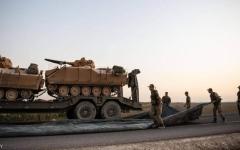 الصورة: الصورة: تركيا تعلن مقتل أول جنودها في شمال شرقي سوريا