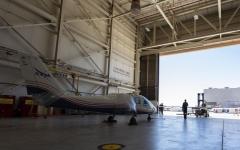 """الصورة: الصورة: أول طائرة كهربائية بالكامل تصل مختبرات """"ناسا"""""""