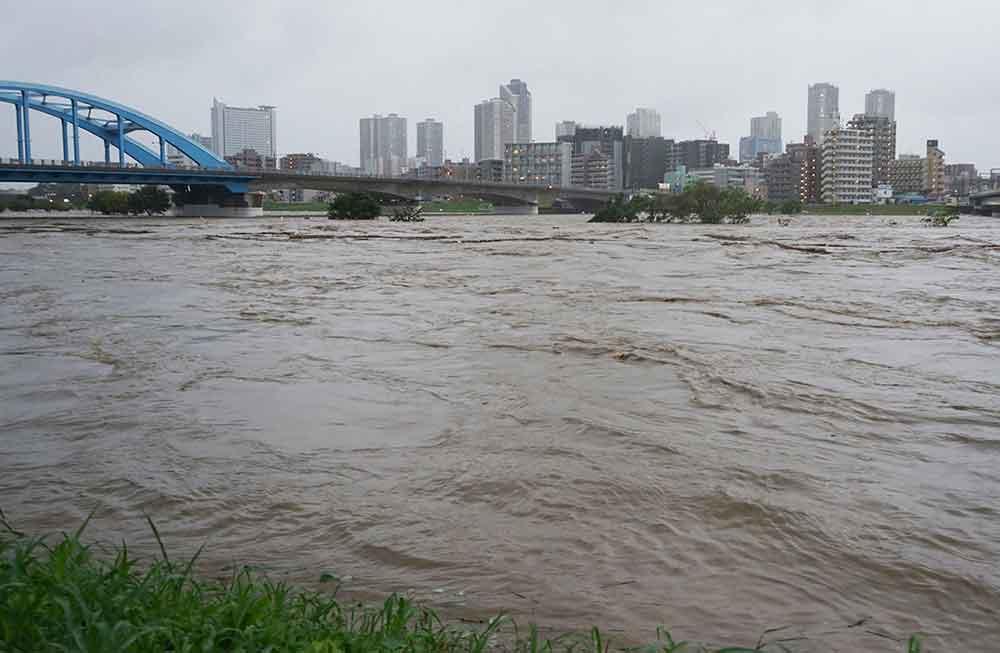 نتيجة بحث الصور عن إعصار اليابان