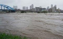 الصورة: الصورة: شاهد.. الإعصار هاغيبيس يضرب اليابان ويقتل شخصين