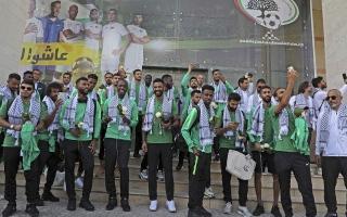 المنتخب السعودي في رام الله للمرة الأولى لمواجهة نظيره الفلسطيني