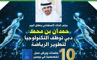 حمدان بن محمد:  دبي تحوّلت إلى مركز لصناعة المستقبل