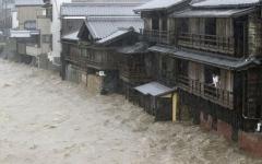 الصورة: الصورة: ارتفاع ضحايا إعصار هاغيبس في اليابان إلى 35 قتيلاً