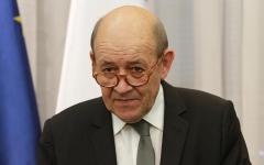 الصورة: الصورة: وزير خارجية فرنسا يتوقع من نظرائه الأوروبيين إدانة الهجوم التركي في سوريا