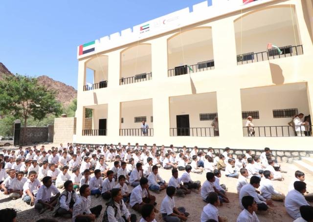 الإمارات تواصل دعم قطاع التعليم في المحافظات اليمنية المحررة - البيان