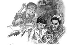 الصورة: الصورة: رُوّاد أعمال مثاليون من أجل الأطفال