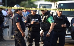 الصورة: الصورة: عصابة مخدرات تقتل 14 شرطياً بالمكسيك