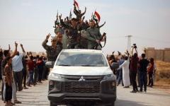 الصورة: الصورة: الجيش السوري يدفن أحلام «المنطقة الآمنة» التركية
