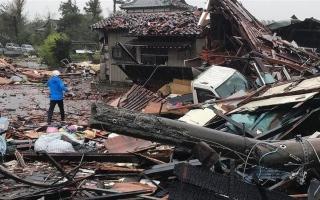 الصورة: الصورة: الكشف عن الحصيلة الحقيقية لضحايا إعصار هاغيبيس في اليابان