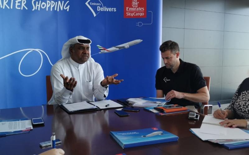 الصورة: الصورة: الإمارات للشحن الجوي تطلق منصة لتسليم التجارة الإلكترونية