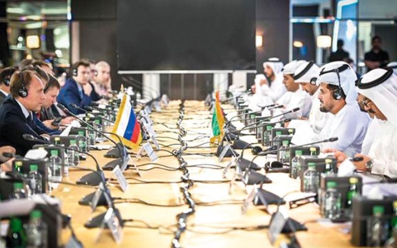 الصورة: الصورة: الإمارات وروسيا.. ركائز صلبة لشراكة صناعية وتقنية وعلمية استثنائية