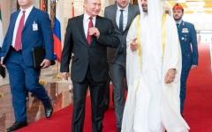 الصورة: الصورة: الرئيس الروسي بوتين يصل إلى الإمارات في زيارة تاريخية