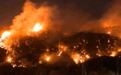 الصورة: الصورة: الحريري: لا أضرار بشرية حتى الآن جراء عشرات الحرائق في لبنان