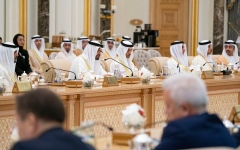 الصورة: الصورة: محمد بن زايد يؤكد على عمق العلاقات الاستراتيجية بين الإمارات وروسيا