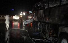 الصورة: الصورة: وفاة 30 معتمراً  في حادث مروري بليغ