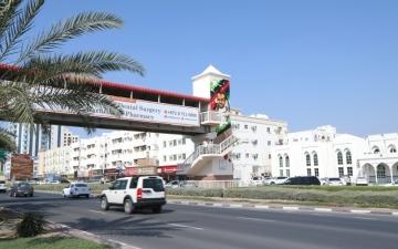 الصورة: الصورة: إطلاق اسم هزاع المنصوري على جسر مشاة في عجمان