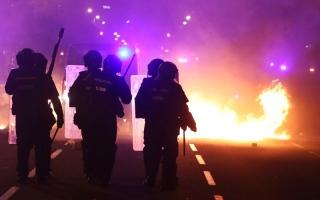 الصورة: الصورة: تصاعد الاحتجاجات في برشلونة