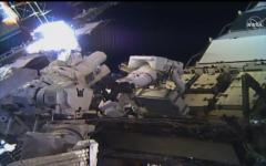 الصورة: الصورة: بالفيديو.. أمريكيتان تباشران أول سير نسائي بالكامل في الفضاء