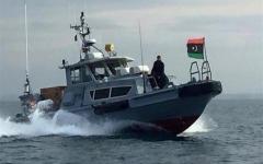 الصورة: الصورة: البحرية الليبية تنقذ 148 مهاجراً