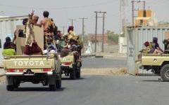 الصورة: الصورة: بدء انتشار مراقبي وقف إطلاق النار في الحديدة