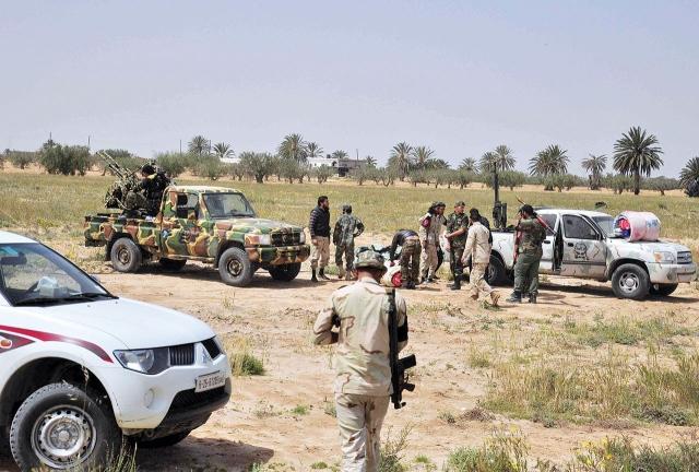 الجيش الليبي يحرر العزيزية  ويتأهب لاقتحام قلب طرابلس - البيان