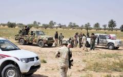 الصورة: الصورة: الجيش الليبي يحرر العزيزية  ويتأهب لاقتحام قلب طرابلس