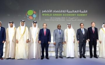 الصورة: الصورة: حمدان بن راشد: الإمارات حققت إنجازاً مهماً باعتماد الـطاقة النـظيفة والـمتـجددة
