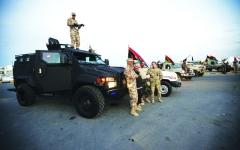 الصورة: الصورة: الجيش الليبي يسيطر على «العزيزية»