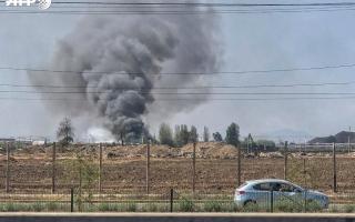 الصورة: الصورة: 5 قتلى في حرق مصنع بتشيلي