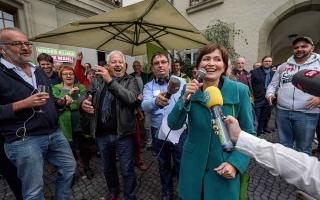"""الصورة: الصورة: """"تسونامي أخضر"""" في الانتخابات التشريعية بسويسرا"""