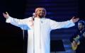 الصورة: الصورة: حسين الجسمي يحلق بجمهوره في سماء دبي