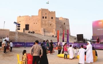 الصورة: الصورة: قلعة الفجيرة تحتفي بالمناسبة ببرامج ثقافية وفنية متنوعة
